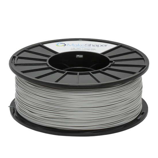 gray abs 1kg, gray abs filament, gray abs, gray filament, grey abs, grey abs filament