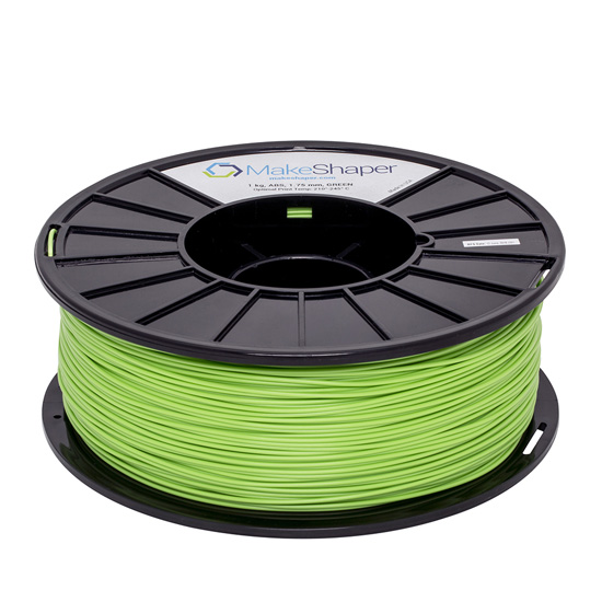 green abs 1kg, green abs filament, green abs
