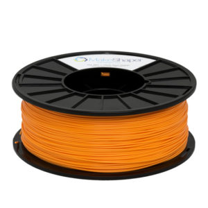 neon orange pla filament