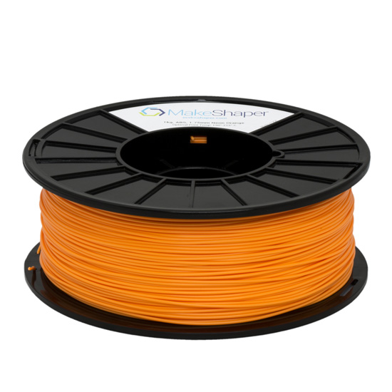 neon orange pla 1kg filament, neon orange pla filament, neon orange pla,