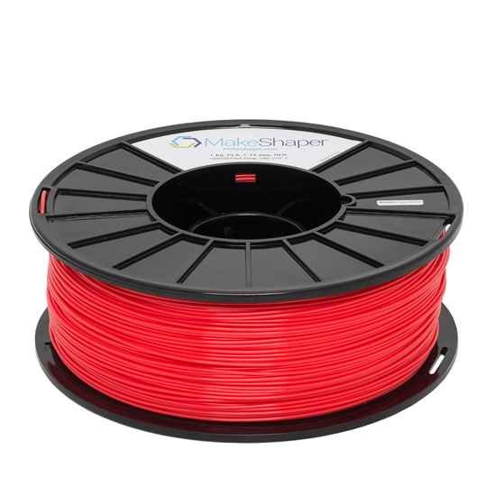 Red 1.75mm PLA Filament, red pla, red pla filament