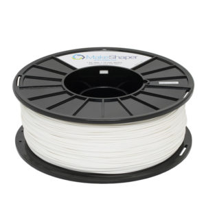 white abs filament 1kg