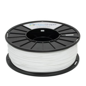 white pla 1kg, white pla filament, white pla, 1.75mm filament