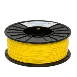 yellow pla 1kg, yellow pla, yellow pla filament, 1.75 filament pla