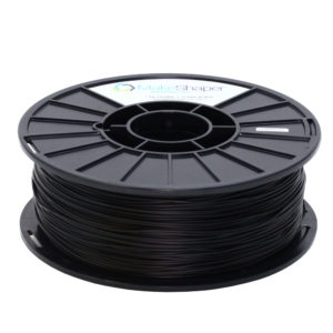 black tpu filament, black tpu, tpu, tpu filament, 1.75mm filament