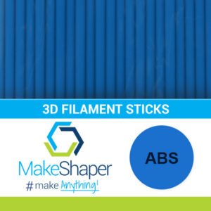 blue abs filament sticks, abs filament sticks, blue filament sticks