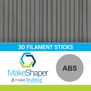 gray abs filament sticks, abs filament sticks, gray filament sticks