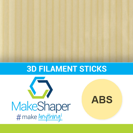 natural abs filament sticks, abs filament sticks, natural filament sticks