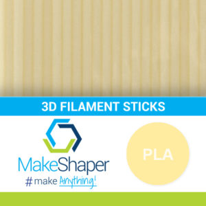 natural pla filament sticks, pla filament sticks, natural filament sticks