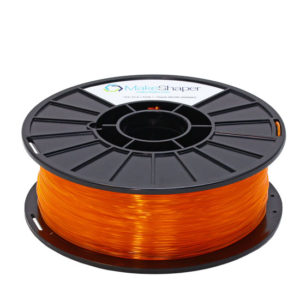 neon orange pla pha filament, neon orange pla pha, neon orange pla pha 1.75 filament, neon orange pla pha 1kg