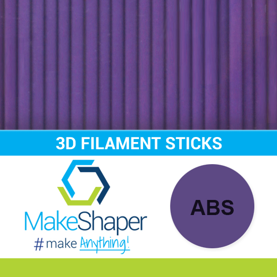 purple abs filament sticks, abs filament sticks, purple filament sticks