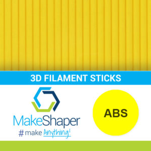yellow abs filament sticks, abs filament sticks, yellow filament sticks