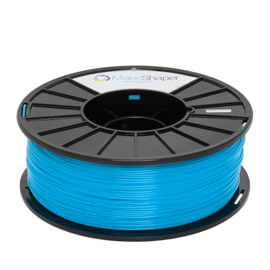 makeshaper blue abs filament, makeshaper blue abs, makeshaper blue abs 1.75 filament, makeshaper blue abs 1kg, makeshaper blue abs 2.85 filament