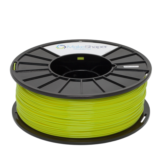 makeshaper green pla filament, makeshaper green pla, makeshaper green pla 1.75 filament, makeshaper green pla 2.85 filament