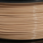 Tan PLA Filament 1KG close-up