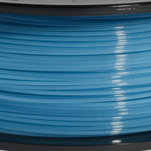 Translucent Blue PLA 1KG close-up