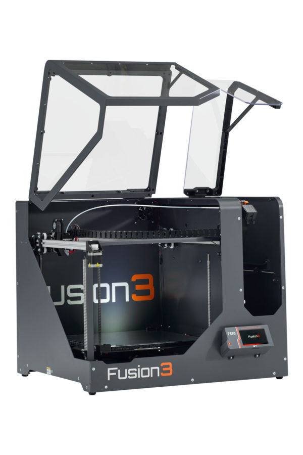 Fusion3-F410—Printer-Only-Profile—Doors-Open